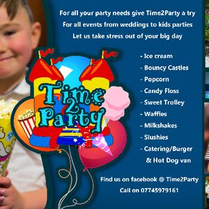 Time2party & Mikon catering Bouncy Castle
