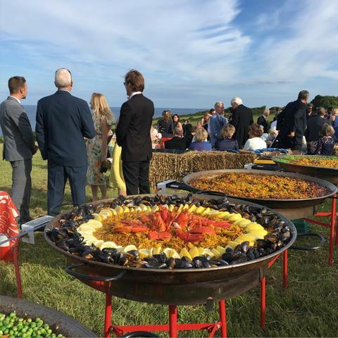 PQ Event Caterer Paella Catering
