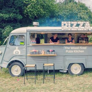 The Wood Fired Pizza Kitchen Pizza Van