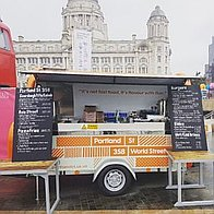 Portland St Pod Fish and Chip Van
