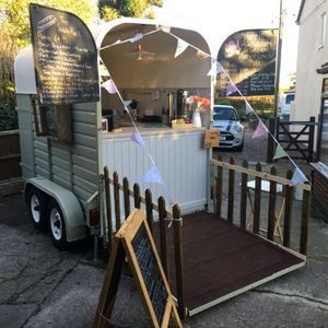 Caddy Rack Vintage Catering Food Van