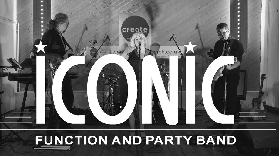 ICONIC - Live music band  - Norwich - Norfolk photo