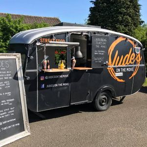 Jude's On The Move Burger Van