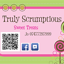 Truly Scrumptious Sweet Treats Sweets and Candies Cart