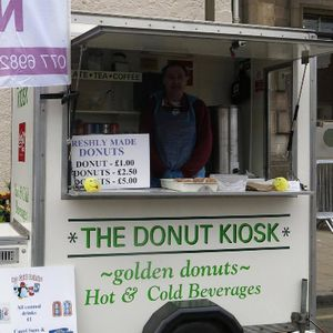 Mr Donut Man - Catering , Edinburgh,  Food Van, Edinburgh Mobile Caterer, Edinburgh