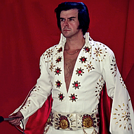 Elvis Tribute Artist Kidd Galahad Impersonator or Look-a-like
