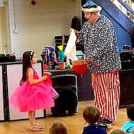Merlins magic or clown show Children's Magician