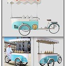 Fabulous Ice Fires Ice Cream Cart