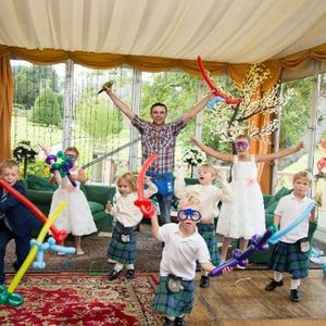 The Balloon Modeller - Children Entertainment , Edinburgh,  Balloon Twister, Edinburgh Children's Music, Edinburgh