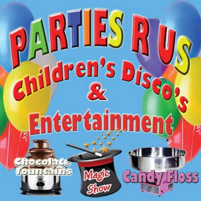 Parties 'R' Us Children's Disco's And Entertainment Children's Magician