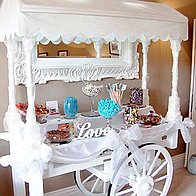 Victorian Sweet Cart Company Sweets and Candies Cart