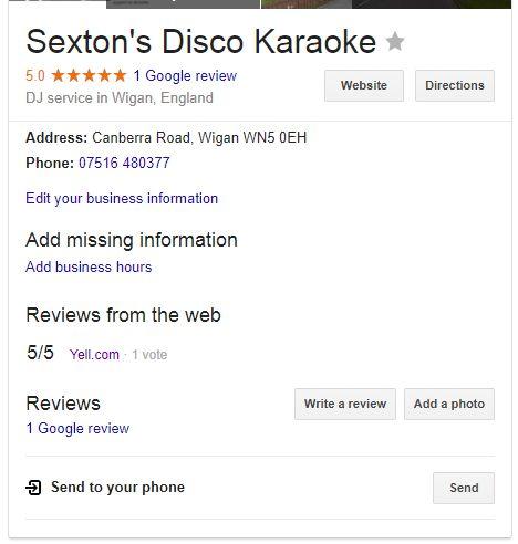 Sexton's Disco Karaoke - DJ  - Wigan - Greater Manchester photo