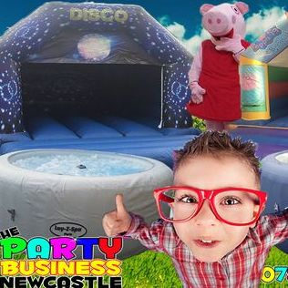The Party Business Newcastle - Event planner , Newcastle Upon Tyne, Games and Activities , Newcastle Upon Tyne, Event Equipment , Newcastle Upon Tyne,  Hot Tub, Newcastle Upon Tyne
