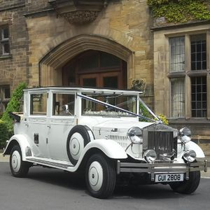 Crozier Wedding Cars Vintage & Classic Wedding Car