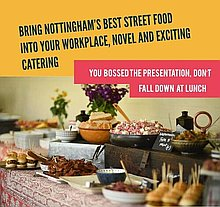 Street Food Revolution UK Dinner Party Catering