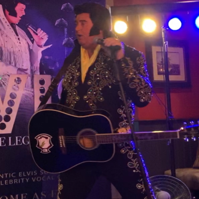 Lee Newsome Professional Elvis Tribute Artist Impersonator or Look-a-like