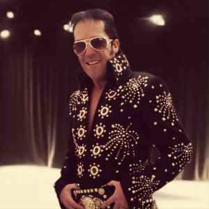 Antony Myers 'The Voice of Vegas Elvis' Tribute Band