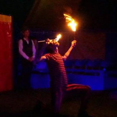 Captain Rumbucket Fire Eater