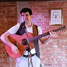 Martin Sean McConnell Singing Guitarist