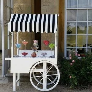 Cornwall Wedding And Party Hire Sweets and Candies Cart