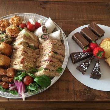 By Victoria cakes and catering Business Lunch Catering