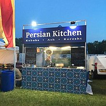 Persian Kitchen Street Food Catering