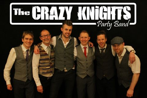 The Crazy Knights - Wedding and Party Band - Live music band , Yarm,  Function & Wedding Music Band, Yarm Pop Party Band, Yarm Rock And Roll Band, Yarm Disco Band, Yarm Rock Band, Yarm