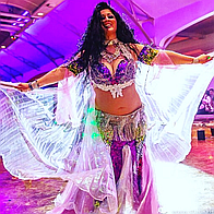Arabic Belly Dancer Nadia Dance Act