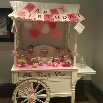Dazzling Designs Sweets and Candies Cart