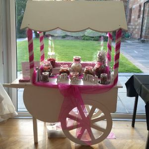 Sweet Heart Candy Carts Sweets and Candies Cart