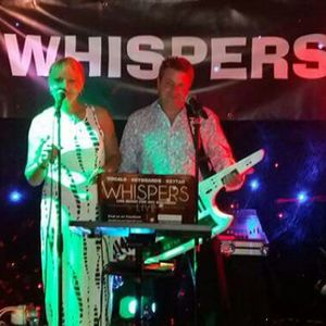 WHISPERS Live music band