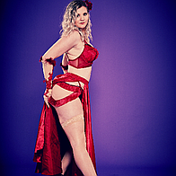 Miss BoomDeAy Burlesque Dancer