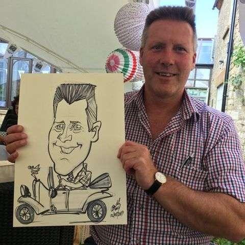 MK Caricatures - Caricaturist , London,