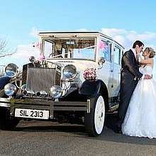 Silverline Limousines & Wedding Cars Wedding car