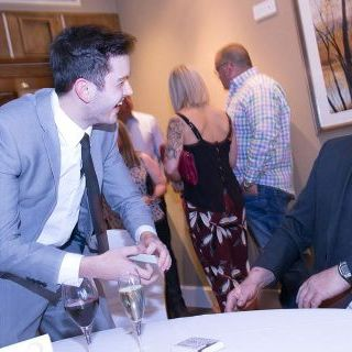 Jamie Gough - Close Up Wedding Magician Illusionist