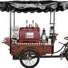 Coffee Bike Wedding Catering
