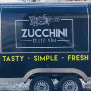 Zucchini pasta van Business Lunch Catering