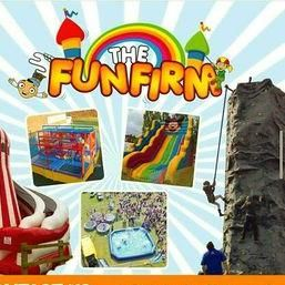 The Fun Firm - Catering , London, Children Entertainment , London, Event Equipment , London, Games and Activities , London,  Candy Floss Machine, London Mobile Climbing Wall, London Ice Cream Cart, London Bouncy Castle, London