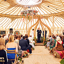 LoveYurtsEvents Party Tent