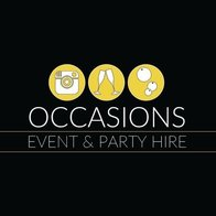 OCCASIONS EVENT & PARTY HIRE Photo or Video Services
