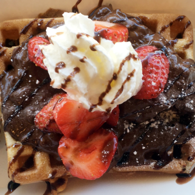 Waffle Box Business Lunch Catering