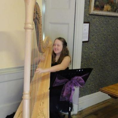 Celtic Harpist in York Harpist