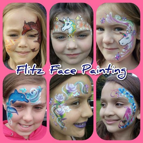 Flitz Face Painting - Children Entertainment , Lincoln,  Face Painter, Lincoln