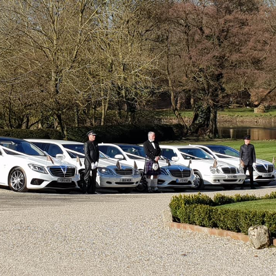 Simons White Wedding Cars Luxury Car