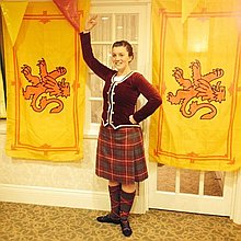 Highland Dancer Dance Act