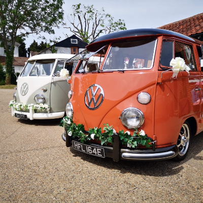 Classic Cool Campers Vintage & Classic Wedding Car