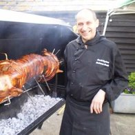 Barbecue Chefs Asian Catering