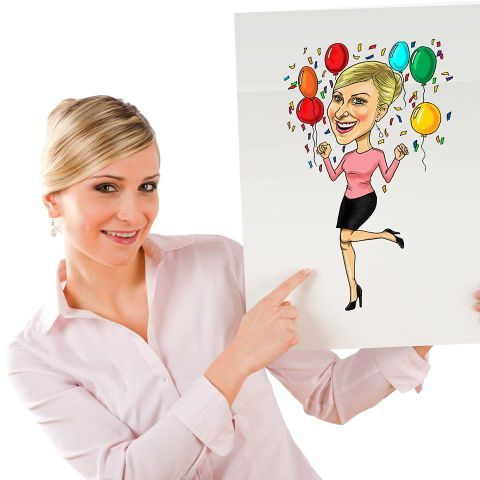 Cartoon Candy Caricatures Caricaturist