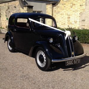 The Classic 'Popular' Wedding Car Company Chauffeur Driven Car