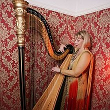 Maxine Molin Rose Harpist